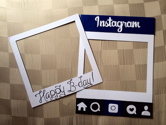 Customized Instagram Photoboard