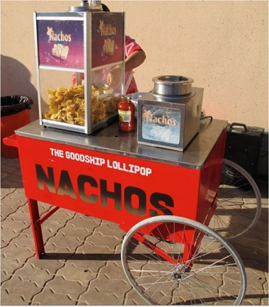 Nachos and Cheese Cart