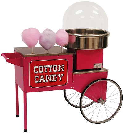 Retro Cotton Candy Cart
