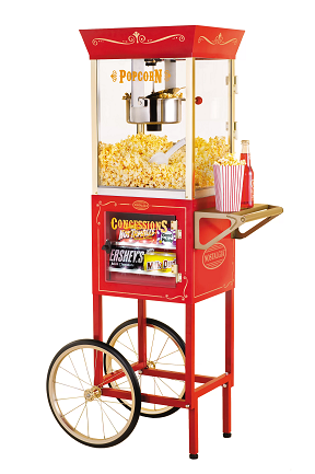 Retro PopCorn Machine